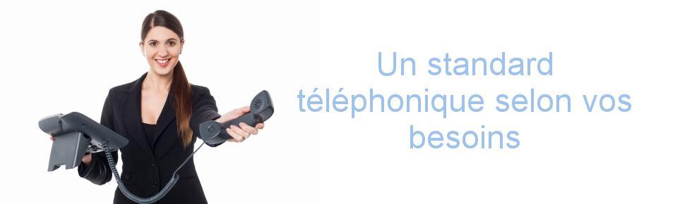 Un standard téléphonique selon vos besoins